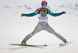 Janne Ahonen (FIN) competes during Second round of the FIS Ski Jumping World Cup event of the 58th Four Hills ski jumping tournament, on January 6, 2010 in Bischofshofen, Austria. (Photo by Vid Ponikvar / Sportida)