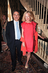 TOM GOLDSTAUB and JANE PROCTER at a party to celebrate the publication of Imperial Bedrooms by Bret Easton Ellis held at Mark's Club, 46 Charles Street, London W1 on 15th July 2010.