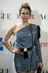 September 13, 2018 - Madrid, Spain - Blanca Suarez attends to photocall of Vogue Fashion Night Out 2018 in Madrid, Spain. September 14, 2018. (Credit Image: © Coolmedia/NurPhoto/ZUMA Press)