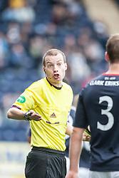 Ref William Collum.<br /> Falkirk 3 v 1 Dundee, 21/9/2013.<br /> ©Michael Schofield.