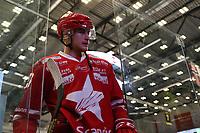 GET-ligaen Ice Hockey, 27. october 2016 ,  Stavanger Oilers v Stjernen<br />Philip Rondahl fra Stjernen etter kampen mot Stavanger Oilers<br />Foto: Andrew Halseid Budd , Digitalsport