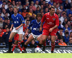 Dunfermline's Ian Ferguson during a Rangers v Dunfermline game in August 2000..