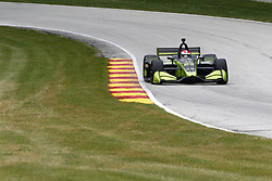 June 22, 2018 - Elkhart Lake, Wisconsin, United States of America - CHARLIE KIMBALL (23) of the United States takes to the track to practice for the KOHLER Grand Prix at Road America in Elkhart Lake, Wisconsin. (Credit Image: © Justin R. Noe Asp Inc/ASP via ZUMA Wire)
