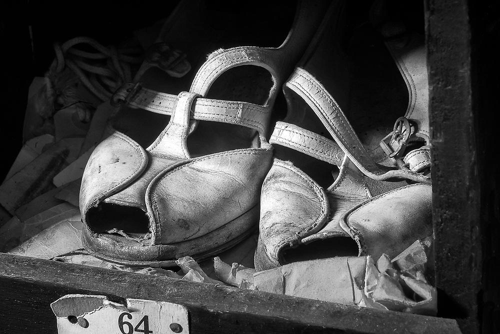 Old Shoes, Klotz Silk Mill, Lonaconing, MD