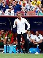 Morocco coach Herve Renard<br /> Moscow 20-06-2018 Football FIFA World Cup Russia  2018 <br /> Portugal - Morocco / Portogallo - Marocco <br /> Foto Matteo Ciambelli/Insidefoto