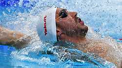 Jeremy Stravius of France competes on Men's 50 m Backstroke heat during the 17th FINA World Championships, at Duna Arena, in Budapest, Hungary, Day 16, on July 29, 2017. Photo by Giuliano Bevilacqua/ABACAPRESS.COM