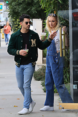 Sophie Turner and Joe Jonas out and about - 29 Feb 2020