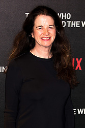February 19, 2019 - London, United Kingdom of Great Britain and Northern Ireland - Andrea Calderwood arriving at the UK premiere of 'The Boy Who Harnessed The Wind' at Ham Yard Hotel on February 19, 2019 in London, England  (Credit Image: © Famous/Ace Pictures via ZUMA Press)