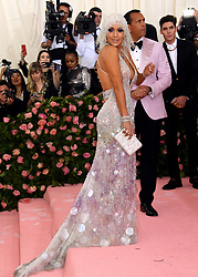 Jennifer Lopez and Alex Rodriguez attending the Metropolitan Museum of Art Costume Institute Benefit Gala 2019 in New York, USA.