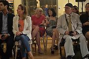 KATHLEEN GARRETT; STEPHEN MAHONEY, The Arthur Cox Irish Fashion Showcase 2015,  Irish based designers chosen to be part of this year's Arthur Cox Irish Fashion Showcases The Mall Galleries, London. 13 May 2015.