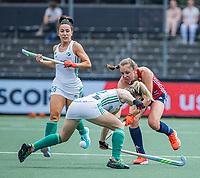 AMSTELVEEN - Giselle Ansley (Eng) tijdens de wedstrijd dames , Ierland-Engeland (1-5) bij het  EK hockey , Eurohockey 2021.COPYRIGHT KOEN SUYK