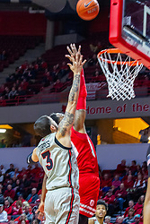 NORMAL, IL - February 26: Ricky Torres during a college basketball game between the ISU Redbirds and the Bradley Braves on February 26 2020 at Redbird Arena in Normal, IL. (Photo by Alan Look)