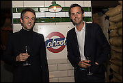 DUNCAN STIRLING; CHARLIE GILKES, Cahoots club launch party, 13 Kingly Court, London, W1B 5PW  26 February 2015