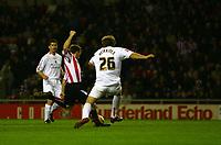 Photo: Andrew Unwin.<br />Sunderland v Luton Town. Coca Cola Championship. 09/12/2006.<br />Sunderland's David Connolly scores his team's second goal.