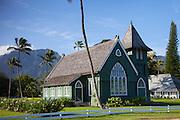 Waioli Church 1912, Hanalei, Kauai, Hawaii