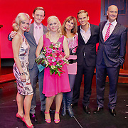 NLD/Tilburg/20101010 - Inloop musical Legally Blonde, cast, oa Kim lian van der Meij