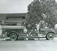 Fire truck from Station #51 on Seward St.
