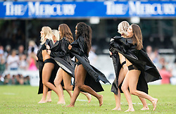 DURBAN, SOUTH AFRICA - APRIL 21: Dancers performing during the Super Rugby match between Cell C Sharks and DHL Stormers at Jonsson Kings Park on April 21, 2018 in Durban, South Africa. Picture Leon Lestrade/African News Agency/ANA