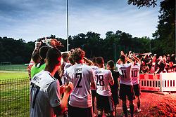 during football match between NŠ Mura and NK Celje in 28th Round of Prva liga Telekom Slovenije 2019/20, on June 16, 2020 in Fazanerija, Murska Sobota, Slovenia. Photo by Blaž Weindorfer / Sportida