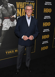 May 8, 2019 - Los Angeles, California, USA - 08, May 2019 - Pasadena, California. Michael Buffer attends 'What's My Name | Muhammad Ali' HBO Documentary Premiere at Regal Cinemas LA LIVE 14 in Los Angeles, California. (Credit Image: © Billy Bennight/ZUMA Wire)
