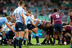 March 9, 2019 - Sydney, NSW, U.S. - SYDNEY, NSW - MARCH 09: Scrum packs at round 4 of Super Rugby between NSW Waratahs and Queensland Reds on March 09, 2019 at The Sydney Cricket Ground, NSW. (Photo by Speed Media/Icon Sportswire) (Credit Image: © Speed Media/Icon SMI via ZUMA Press)