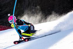 Pika Dvornik of Slovenia during the Ladies' Slalom at 56th Golden Fox event at Audi FIS Ski World Cup 2019/20, on February 16, 2020 in Podkoren, Kranjska Gora, Slovenia. Photo by Morgan Kristan / Sportida