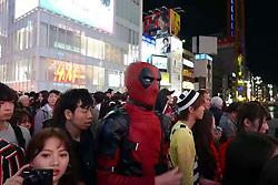 November 1, 2018 - Osaka, Osaka, China - Japanese people celebrate Halloween in Osaka, Japan, October 31st, 2018. (Credit Image: © SIPA Asia via ZUMA Wire)