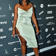 Ms Banks arrivers at AIM Independent Music Awards at the Roundhouse on 3 September 2019, Camden Town, London, UK.