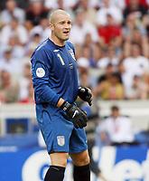 Photo: Chris Ratcliffe.<br /> England v Ecuador. 2nd Round, FIFA World Cup 2006. 25/06/2006.<br /> Paul Robinson of England.