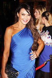 © Licensed to London News Pictures. 08/10/2013. LONDON. Lizzie Cundy, The Commitments - Press Night, The Palace Theatre, London UK, 08 October 2013. Photo credit : Brett D. Cove/Piqtured/LNP