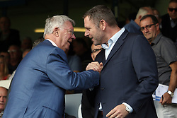 Sir Alex Ferguson, father of Peterborough United Manager Darren Ferguson is greeted by Peterborough United Chairman Darragh MacAnthony - Mandatory by-line: Joe Dent/JMP - 17/08/2019 - FOOTBALL - Weston Homes Stadium - Peterborough, England - Peterborough United v Ipswich Town - Sky Bet League One