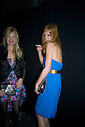 ALEXIA INGE; OLIVIA INGE, The Elle Style Awards 2009, The Big Sky Studios, Caledonian Road. London. February 9 2009.  *** Local Caption *** -DO NOT ARCHIVE -Copyright Photograph by Dafydd Jones. 248 Clapham Rd. London SW9 0PZ. Tel 0207 820 0771. www.dafjones.com<br /> ALEXIA INGE; OLIVIA INGE, The Elle Style Awards 2009, The Big Sky Studios, Caledonian Road. London. February 9 2009.