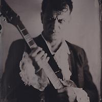 Daniel Jeanrenaud, aka the Camden Cat, legendary rock and roll artist