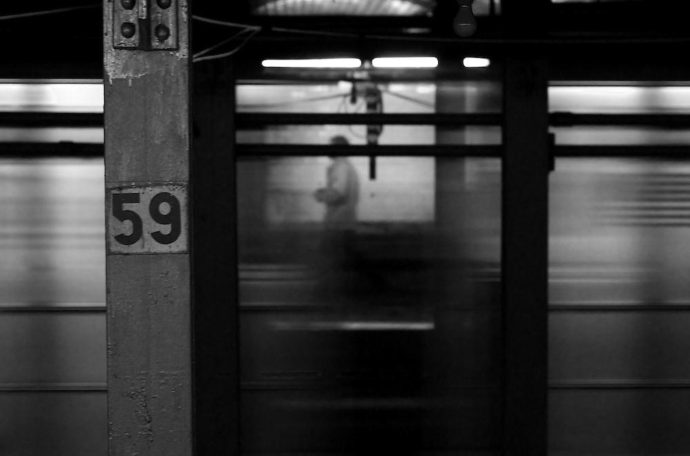 New York City Subway. 2007