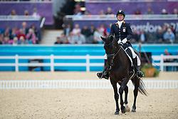 Petra van de Sande (NED) - Valencia Z<br /> Individual Championship Test  - Grade II - Dressage<br /> London 2012 Paralympic Games<br /> © Hippo Foto - Kate Houghton