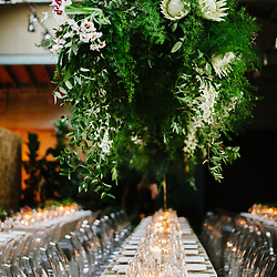 A celebrity wedding at Millwick in Los Angeles, California.