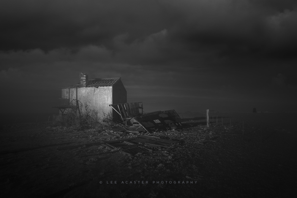 Orfordness ruins