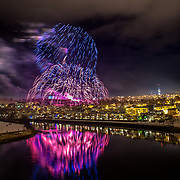 The firework of Trondheim
