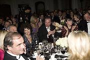 MARIA NIARCHOS AND SEBASTIAN GUINNESS, The 2007 Cartier Racing Awards. Four Seasonss Hotel. London. 14 November 2007. -DO NOT ARCHIVE-© Copyright Photograph by Dafydd Jones. 248 Clapham Rd. London SW9 0PZ. Tel 0207 820 0771. www.dafjones.com.