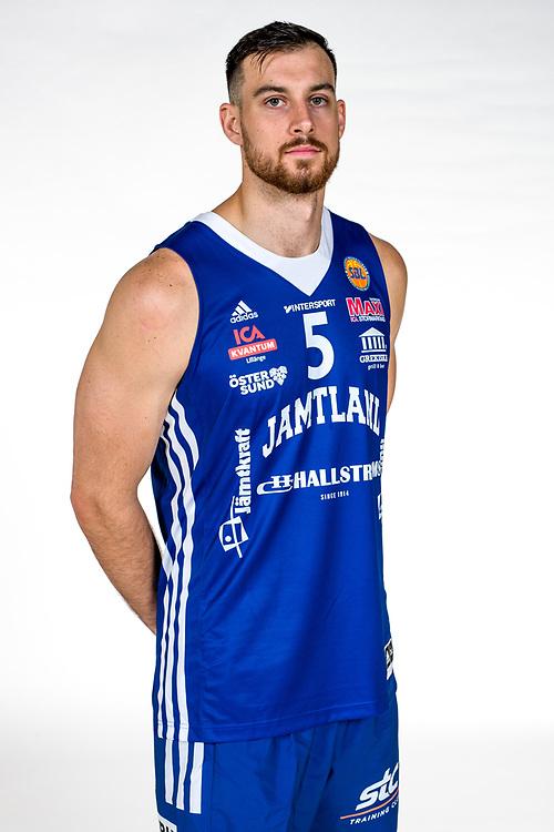 ÖSTERSUND 210906<br /> Jämtlands Steve Harris<br /> Jämtland Basket säsongen 2021-2022<br /> <br /> Foto: Per Danielsson/Projekt.P