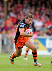 Castleford Tigers Alex Foster during the Betfred Super League match at the Mend-A-Hose Jungle, Casteford. PRESS ASSOCIATION Photo. Picture date: Sunday June 17, 2018. See PA story RUGBYL Castleford. Photo credit should read: Richard Sellers/PA Wire. RESTRICTIONS: Editorial use only. No commercial use. No false commercial association. No video emulation. No manipulation of images.