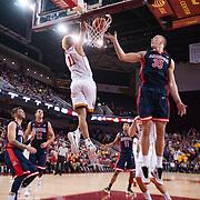 USC Basketball v Arizona   Regulation
