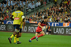June 5, 2017 - Saint Denis, Seine Saint Denis, France - BELLEAU player of the Rugby Club Toulonnais during the final of the French Rugby Championship Top 14 against ASM Clermont-Auvergne at the stadium of France - St Denis France.ASM Clermont beat RC Toulon 22-16 (Credit Image: © Pierre Stevenin via ZUMA Wire)