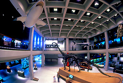 Stock photo of the interior of the Houston Museum of Natural Science in Houston Texas