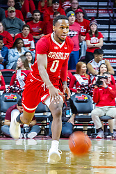 NORMAL, IL - February 26: Danya Kingsby  during a college basketball game between the ISU Redbirds and the Bradley Braves on February 26 2020 at Redbird Arena in Normal, IL. (Photo by Alan Look)