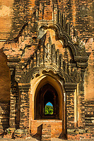 architecture details of the historic capital city of Bagan Myanmar (Burma)