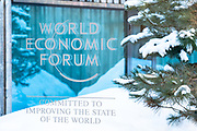 Impressions from the World Economic Forum Annual Meeting 2020 in Davos-Klosters, Switzerland, 20 January. Copyright by World Economic Forum/ Greg Beadle