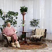 Alina 80  <br /> <br /> One of the 50 residents at a retirement home in Krakow run by the Congregation of the Little Servant Sisters of the Immaculate Conception of the Most Blessed Virgin Mary<br /> <br /> Tyniec, Krakow, Poland