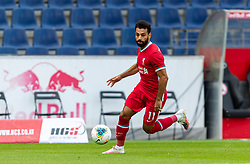 SALZBURG, AUSTRIA - Tuesday, August 25, 2020: Liverpool's Mohamed Salah during a preseason friendly match between FC Red Bull Salzburg and Liverpool FC at the Red Bull Arena. (Pic by Propaganda)