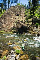 North Fork of the Middle Fork of the Willamette River near Oakridge, Oregon.